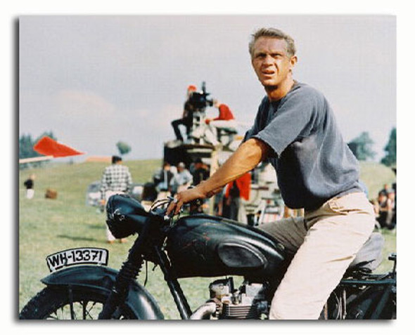 (SS3059901) Steve McQueen  The Great Escape Movie Photo