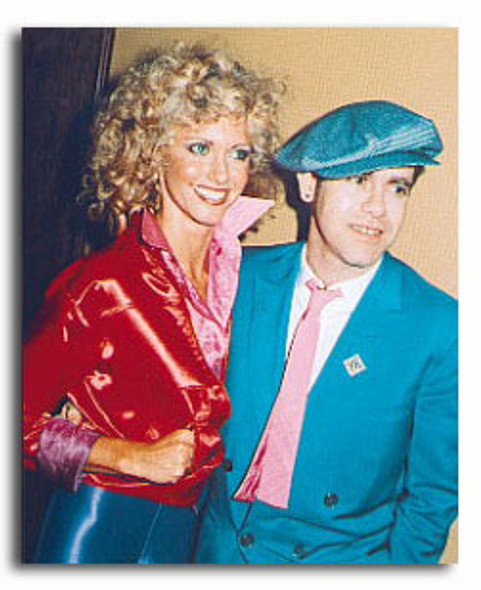 (SS3154489) Olivia Newton-John & Elton John Music Photo