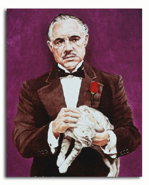 (SS3181841) Marlon Brando  The Godfather Movie Photo
