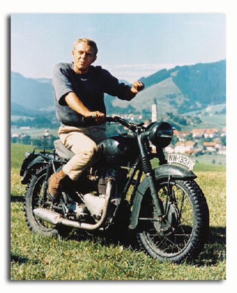 (SS3188224) Steve McQueen  The Great Escape Movie Photo