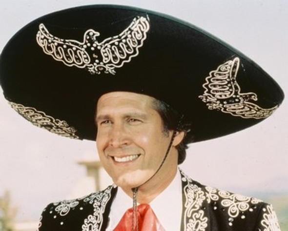 Chevy Chase Three Amigos Movie Photo