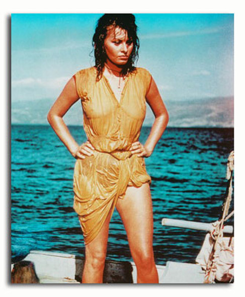 (SS3216694) Sophia Loren  Boy on a Dolphin Movie Photo