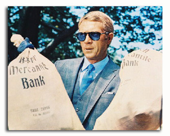 (SS3227315) Steve McQueen  The Thomas Crown Affair Movie Photo