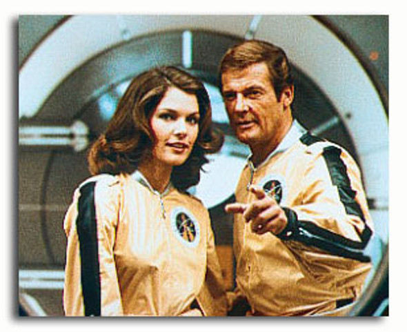 (SS3276845) Roger Moore, Lois Chiles Movie Photo