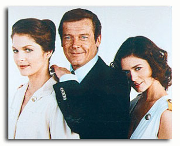 (SS3276897) Roger Moore, Corinne Clery, Lois Chiles Movie Photo