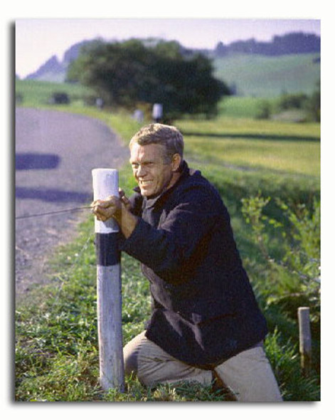 (SS3312868) Steve McQueen  The Great Escape Movie Photo