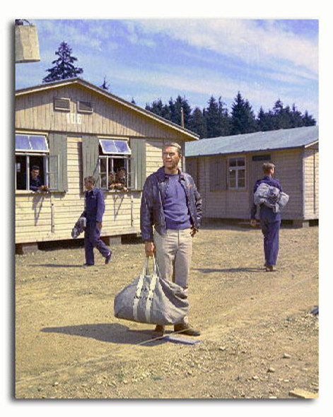 (SS3315819) Steve McQueen  The Great Escape Movie Photo