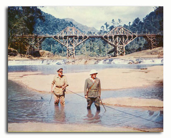 (SS3319394) Cast   The Bridge on the River Kwai Movie Photo
