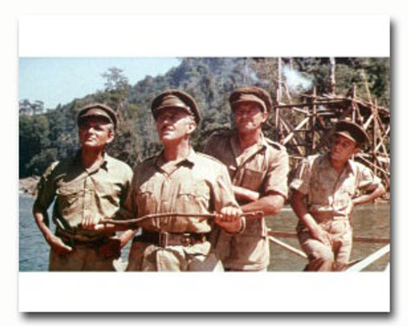 (SS3336125) Cast   The Bridge on the River Kwai Movie Photo