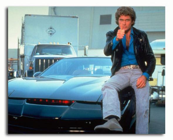 (SS3337763) David Hasselhoff  Knight Rider Movie Photo