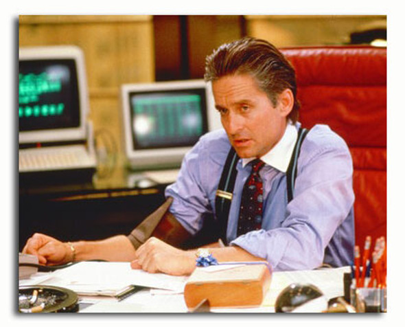 (SS3360435) Michael Douglas  Wall Street Movie Photo