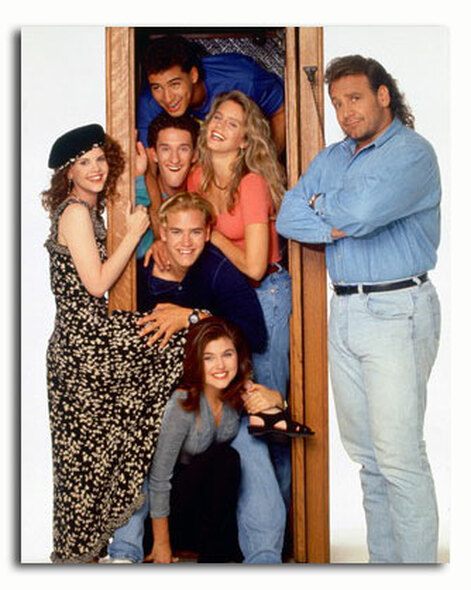 (SS3400839) Cast   Saved by the Bell Television Photo