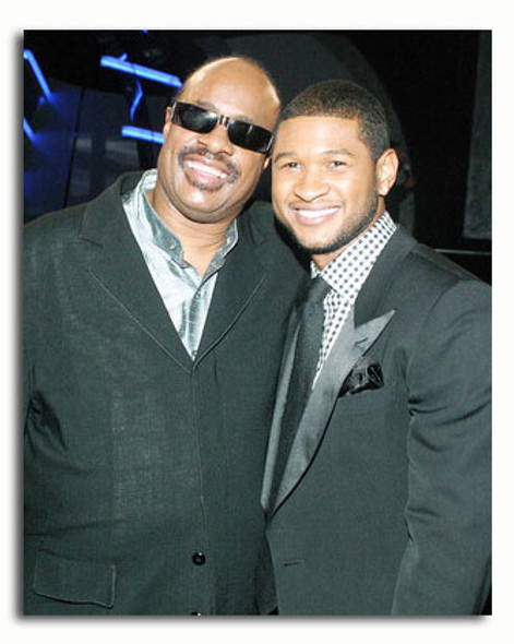 (SS3544944) Stevie Wonder, Usher Raymond Music Photo