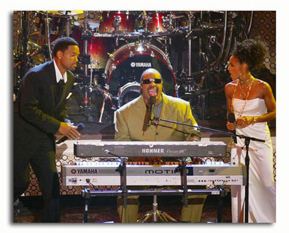 (SS3544957) Stevie Wonder, Will Smith Music Photo