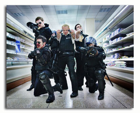 (SS3582605) Cast   Hot Fuzz Movie Photo