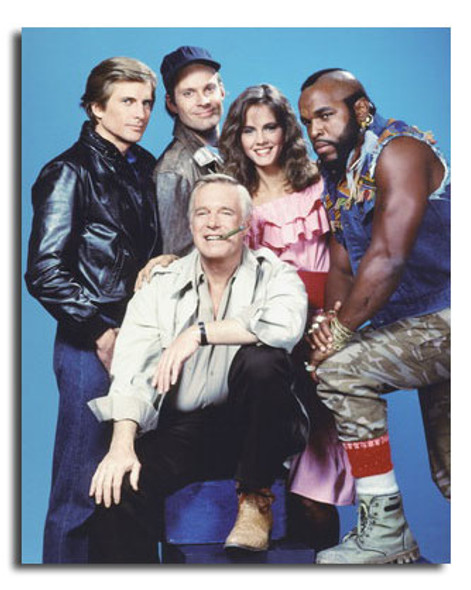 (SS3610425) Cast   The A-Team Television Photo
