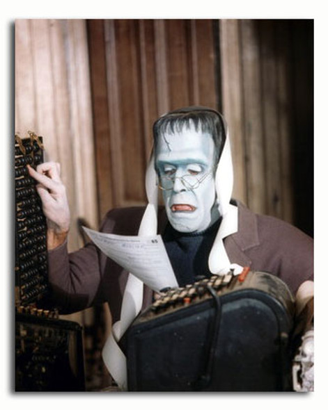 (SS3372512) Fred Gwynne  The Munsters Music Photo