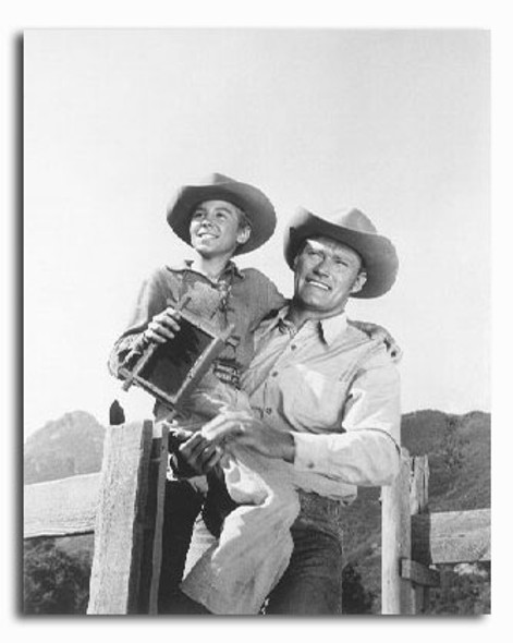 (SS2223143) Chuck Connors  The Rifleman Movie Photo