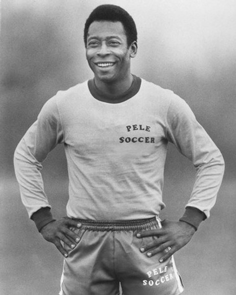 Pele Soccor Sport Celebrity Photo