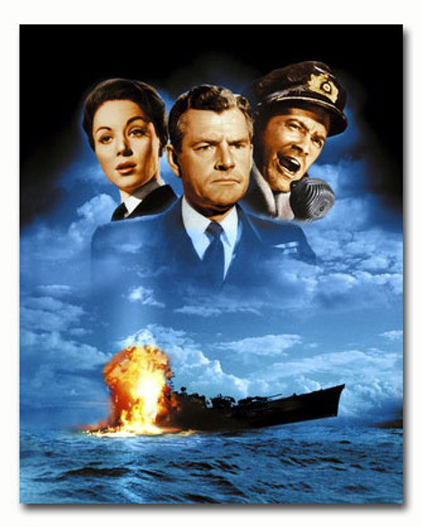 (SS3558347) Cast   Sink the Bismarck! Movie Photo