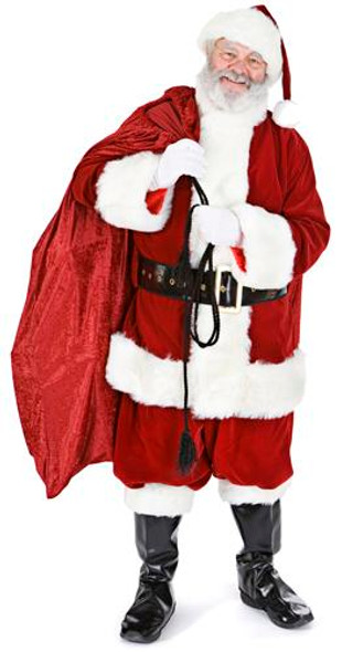 Santa with Sack (Christmas) - Lifesize Cardboard Cutout / Standee