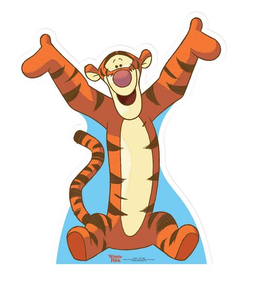 Tigger - Winnie The Pooh Cardboard Cutout