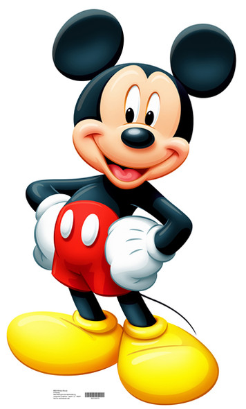Mickey Mouse (Disney) - Lifesize Cardboard Cutout / Standee