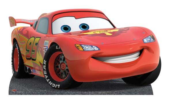 Lightning McQueen Cutout