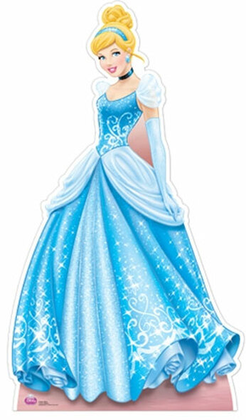 Cinderella Cardboard Cutout