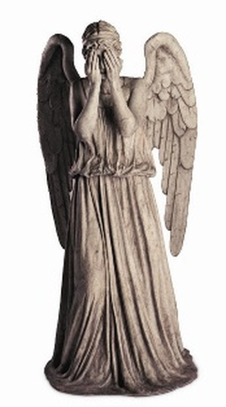 Weeping Angel Cutout Dr Who