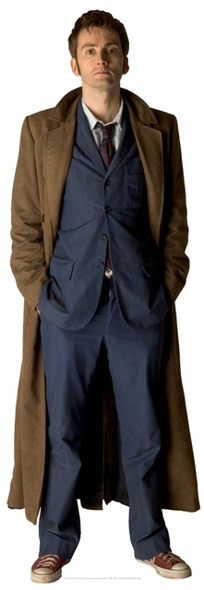 David Tennant Doctor Who Cutout
