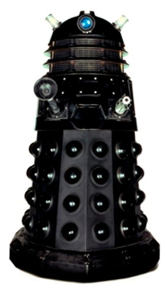 Dalek (Black) Tabletop (Doctor Who)- Tabletop Cardboard Cutout / Standee