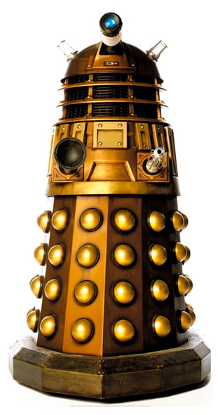 Dalek Caan Tabletop Cutout