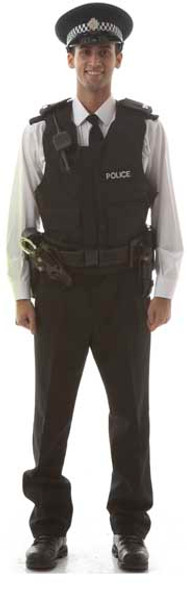 Policeman (Stag Do/Hen Night) - Lifesize Cardboard Cutout / Standee