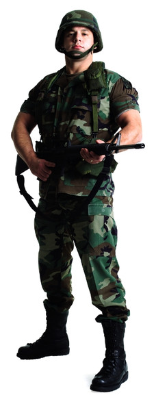 US Soldier (Stag Do/Hen Night) - Lifesize Cardboard Cutout / Standee