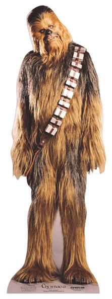 Chewbacca Cardboard Cutout