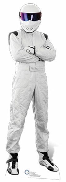 The Stig Cardboard Cutout