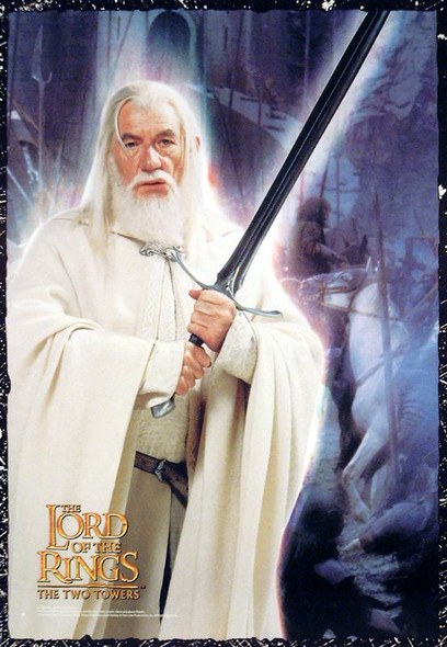 THE LORD OF THE RINGS: THE TWO TOWERS (Gandalf Reprint) (2002) REPRINT CINEMA POSTER