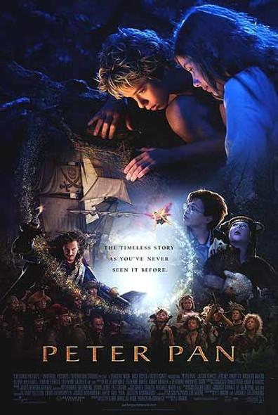 PETER PAN (DOUBLE SIDED Regular) (2003) ORIGINAL CINEMA POSTER