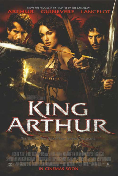 KING ARTHUR (DOUBLE SIDED Regular) (2004) ORIGINAL CINEMA POSTER