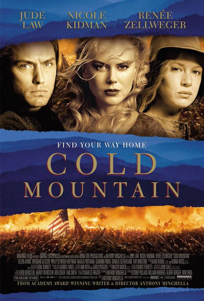 COLD MOUNTAIN (SINGLE SIDED Regular) (2003) ORIGINAL CINEMA POSTER