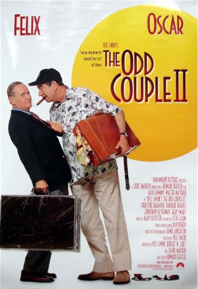 ODD COUPLE II (2) (1998) ORIGINAL CINEMA POSTER