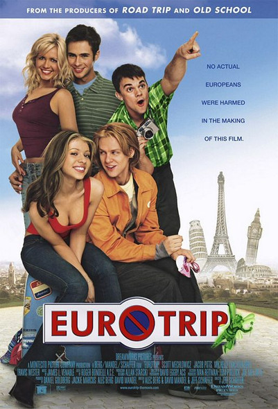 Euro Trip (Double Sided Regular) (2004) Original Cinema Poster