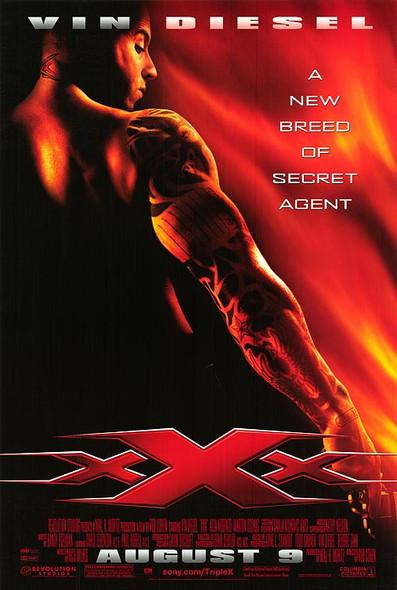 XXX (SINGLE SIDED Regular) (UV Coated) High Gloss (2002) ORIGINAL CINEMA POSTER