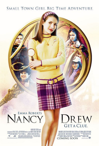 NANCY DREW (DOUBLE SIDED Regular) (2007) ORIGINAL CINEMA POSTER