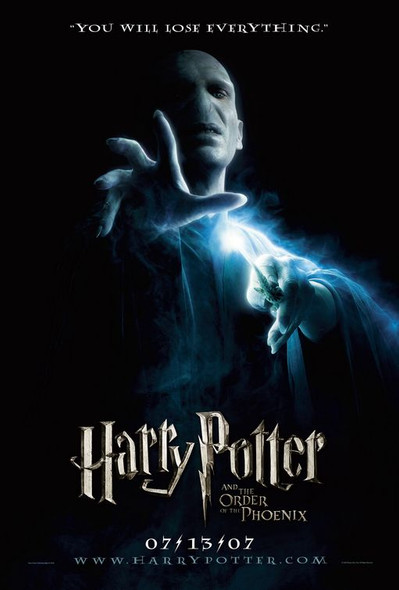 HARRY POTTER AND THE ORDER OF THE PHOENIX (DOUBLE SIDED Advance) (2007) ORIGINAL CINEMA POSTER