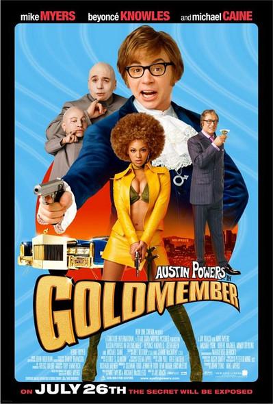 GOLDMEMBER (SINGLE SIDED Regular) (2002) ORIGINAL CINEMA POSTER