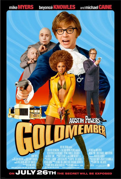 GOLDMEMBER (SINGLE SIDED Regular) (2002) ORIGINAL CINEMA POSTER