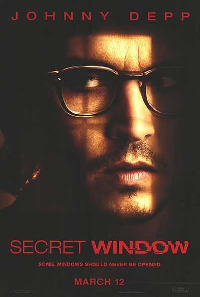 SECRET WINDOW (SINGLE SIDED Advance) (2004) ORIGINAL CINEMA POSTER