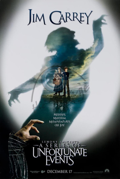 LEMONY SNICKET'S A SERIES OF UNFORTUNATE EVENTS (DOUBLE SIDED Advance) (2004) ORIGINAL CINEMA POSTER